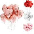 5 шт., 18 дюймов, цвет розы, стандартный воздушный шар, украшения для дня рождения, детский и взрослый праздничный шар