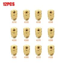 12 шт./компл. основной струйный карбюратор для Mikuni VM TM Carb #210,#220,#230,#240,#250,#260,#270,#280,#290,#300, мотоцикл #310,#320
