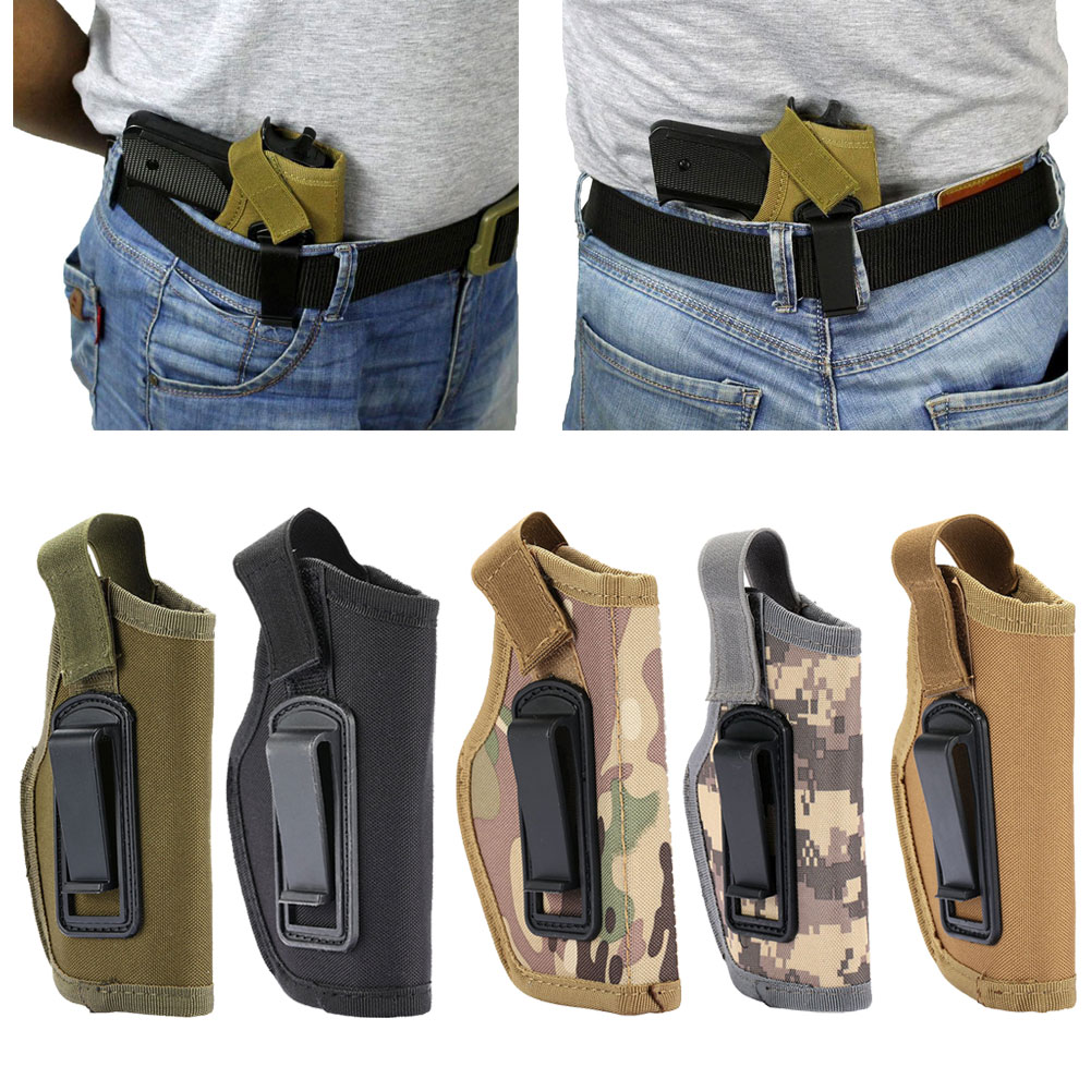 Tactical Compact/Subcompact Pistol Holster Waist Case Hunting Accessory