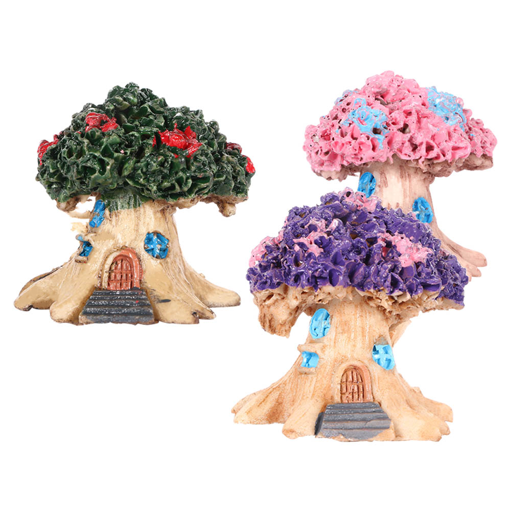 Time-limited Special Offer Micro Landscape Fairy Garden Miniatures Resin Ornaments Decorative Crafts Tree House