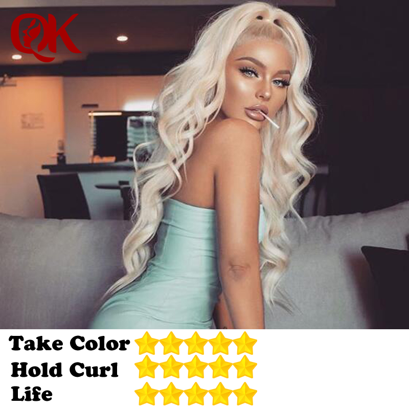 QueenKing Hair Virgin 613 Full Lace Wig European Human Hair Wigs Pre Plucked With Baby Hair