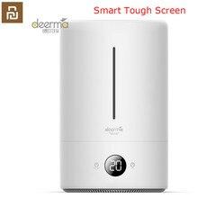 Oryginalny Xiaomi Mijia Deerma 5L nawilżacz powietrza wersja dotykowa 35db ciche oczyszczanie powietrza do klimatyzowanych pokoi biuro gospodarstwa domowego