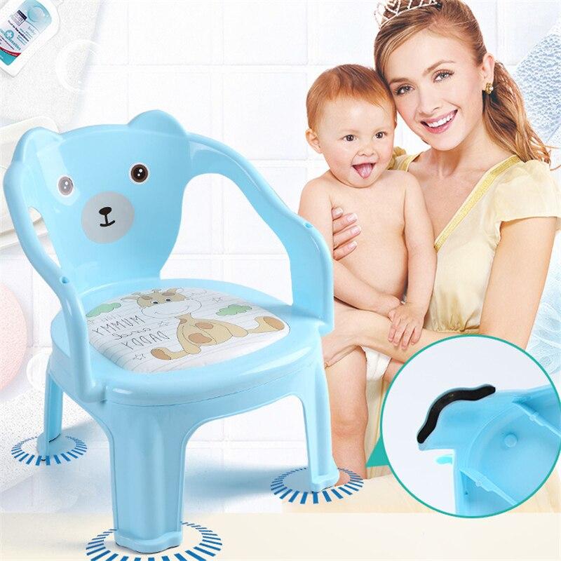 Kindergarten Baby Children's Feeding Chairs Baby Seats & Sofa Cartoon Non-slip Anti-rollover Baby Safety Table Chairs