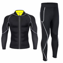 New Thermal Underwear Men Sets Quick Dry Stretch Thermo Compression Warm Male Long Johns Fitness