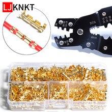 Multi HS-202D inserções terminais em forma de pequenos dentes universal primavera plug fio ferramenta de mão conexão rápida frisado alicate portátil