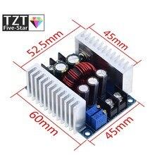 300w 20a DC-DC conversor buck step down módulo de corrente constante led driver power step down módulo tensão capacitor eletrolítico