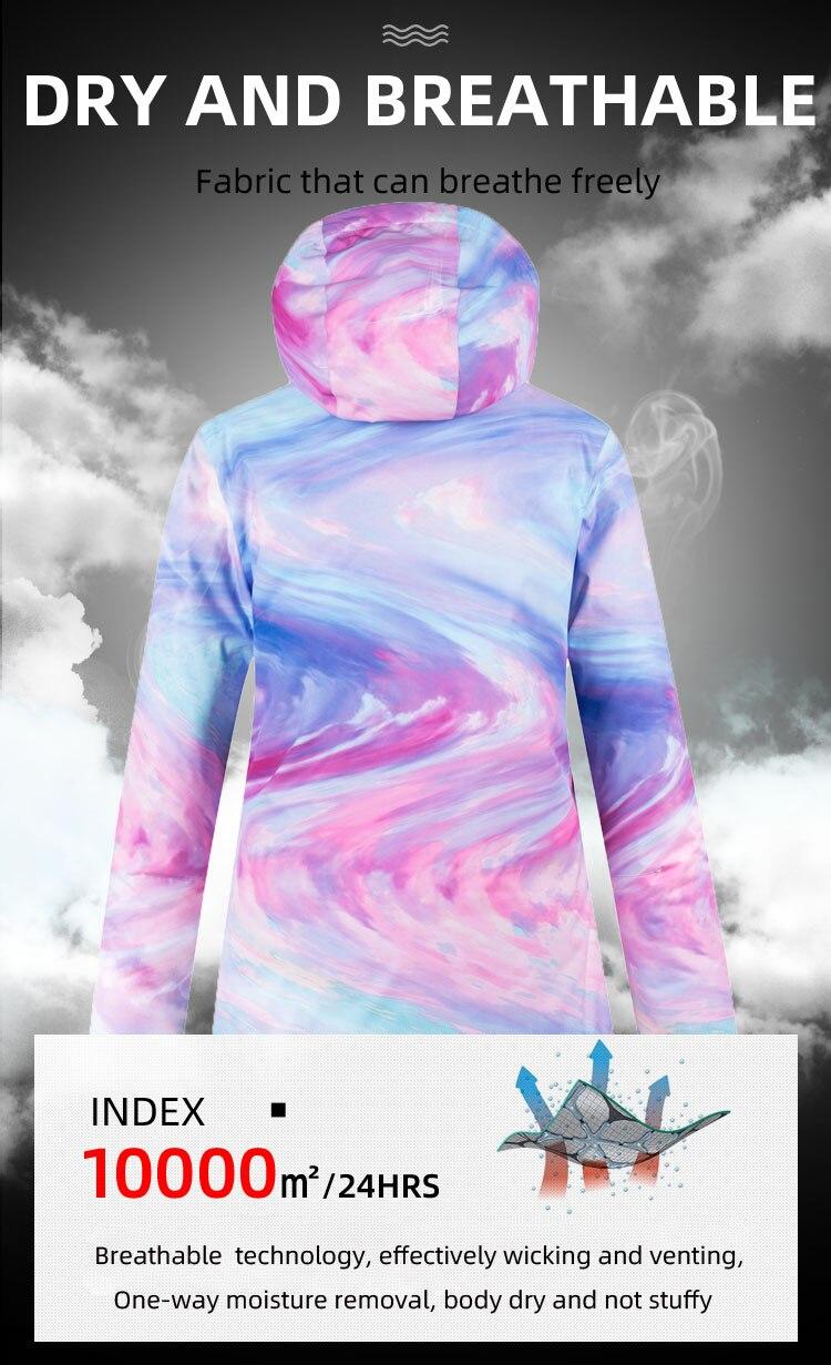 de roupas de snowboard feminino inverno à