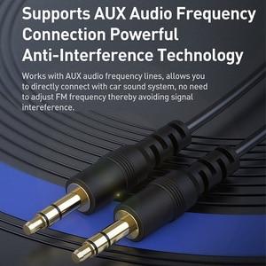 Image 5 - Baseus FM Modulator Transmitter Bluetooth 5,0 FM Radio 3,1 EINE USB Auto Ladegerät Car Kit Wireless Aux Audio FM transmiter