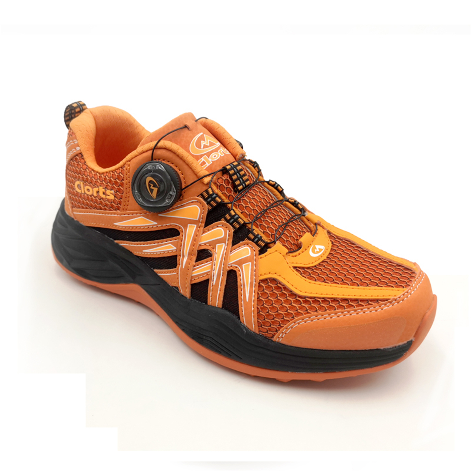Clorts Mens Quick Lace up BOA Running