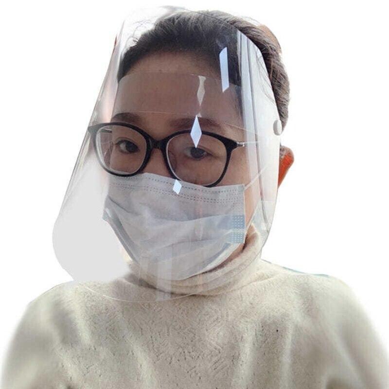 Transparent Mask Protective Mask Transparent Plastic Anti-fog Saliva Protection
