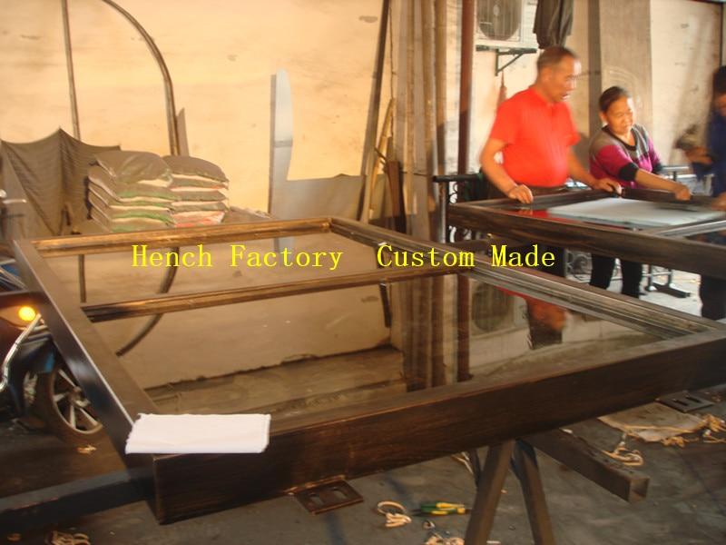 Shanghai Hench Brand China Factory 100% Custom Made Sale Australia Double Door Steel Gate