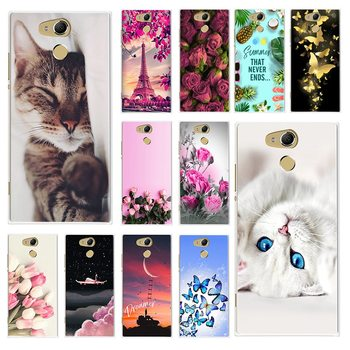 Soft TPU Phone Case For Sony Xperia XA2 XA 2 Ultra Case Cartoon Painting Back Cover For Coque Sony Xperia XA2 H4233 H3113 Fundas