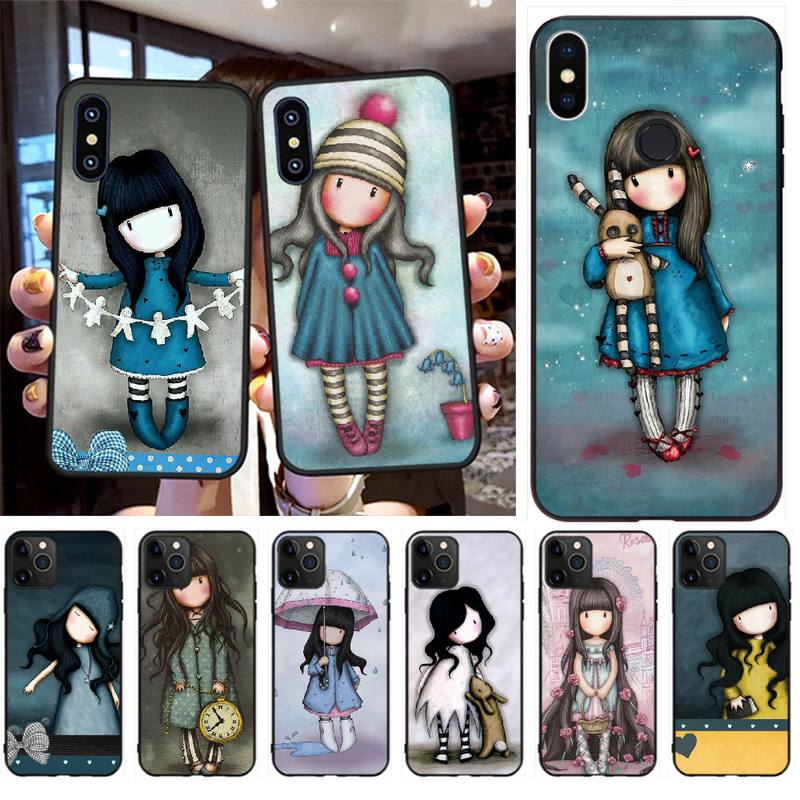 PENGHUWAN Santoro Gorjuss Custom Photo Soft Phone Case for iPhone 11 pro XS MAX 8 7 6 6S Plus X 5S SE XR case(China)