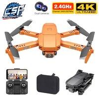 CEVENNESFE 2021 nuevo Drone 4k Cámara Dual de HD Visual posicionamiento 1080P WiFi Fpv altura preservación Rc Quadcopter Juguetes