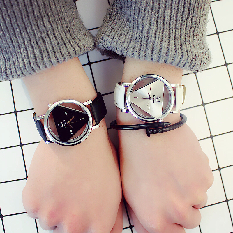 2019 Inverted Triangle Fashion Men Watches Top Brand Luxury Male Clock Business Mens Wrist Watch Hodinky Relogio Masculino Mujer