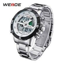 WEIDE Men Watch Relogio Masculino Mens Watches Top Brand Luxury Quartz Relojes Hombre Digital Wrist Men Reloj Hombre Watch Men
