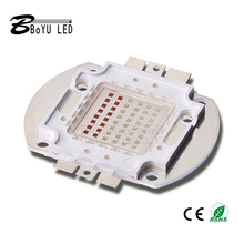 Встроенные лампы RGB высокой мощности, COB, интегрированные светодиодные лампы, Чип 48 Вт, белый, теплый белый, высококачественный прожектор «сд...