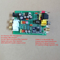 5 3 CSR8675 APTX HD Bluetooth 5.0  Fiber  Coaxial 3-Channel Input Decoder PCM5102A DAC Audio Decoding 8-15V DC (3)
