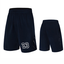 Number 23 Men Basketball Shorts Sports Running Breathable Shorts With Pocket Summer Athletic Men's Running Shorts