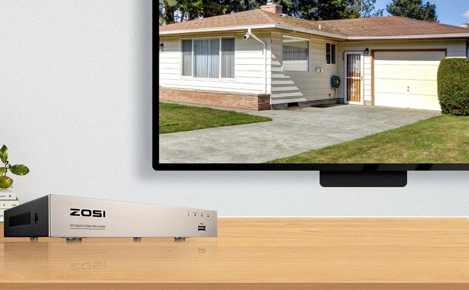 970+600-DVR和高清监控画面