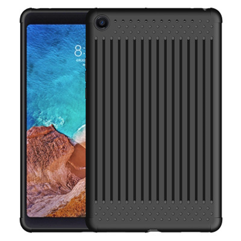 For Xiaomi Mi Pad 4 Case Cover 8 Inch Silicone Protective Cover Heat Dissipation Cases Soft Back Cove For Mipad 4 Tablet Shell