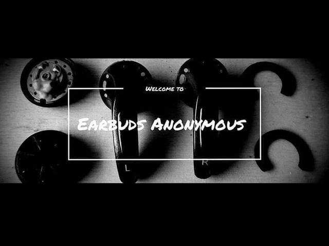 Słuchawki douszne anonimowe