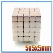 10 ~ 1000 PÇS/LOTE N35 Retangular Ímã 5x5x5 4*4*4 3x3x3 10x10x10