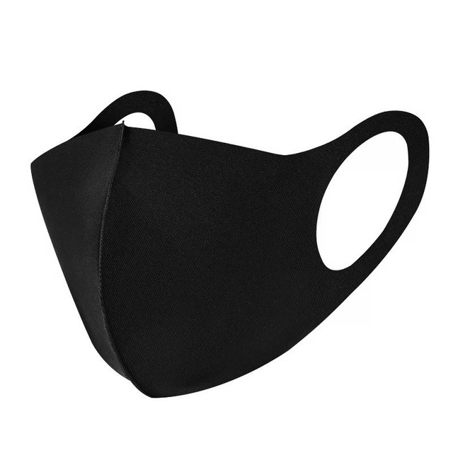 3 PC 2020 New Gray Black Pink Dustproof Face Mask Reusable Washable Kpop Adult Cotton Cycling Face Mask Cover Respirator 4
