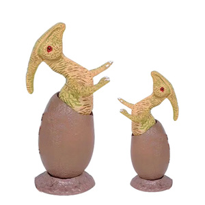 Image 4 - 6PCS 6.5cm Dinosaur Fossil Eggs Toys Set Collection Model Action Figures Dinosaur Party Role Play Educational Toys For Kids Gift