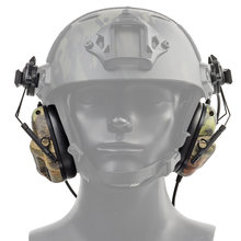 Противошумная тактическая гарнитура для боевой стрельбы звукосниматель