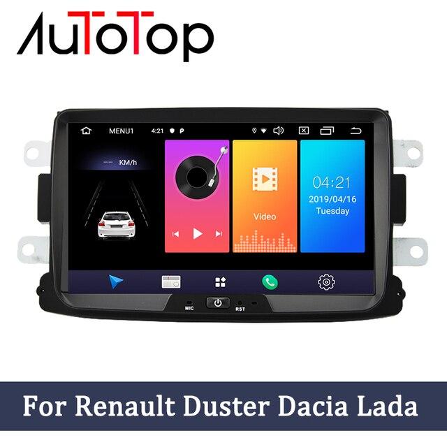 """Autotop 8 """"2ディンアンドロイド9.0カーラジオダチア/サンデロ/ダスター/ルノー/captur/lada/xray 2/logan 2と2グラムram 16グラムrom 4グラムwifi"""