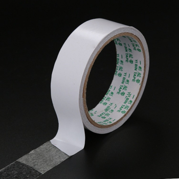 White Ultra-thin ultra-powerful stickiness double-sided tape Multipurpose White double-sided tape for phone stationery Office image