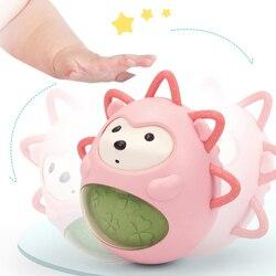 Детские игрушки для малышей от 0 до 12 месяцев раннего обучения Хрустящие цыпленковые игрушки неваляшки для детей Игрушки для ванны для млад...