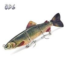 ODS lur16.5cm/60g реалистичные 4 шарнирные секции рыболовные приманки приманка для форели жесткая приманка для рыбалки металлическая соединенная Рыболовная Снасть