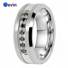 Обручальные кольца для мужчин и женщин мужское кольцо из вольфрамовой