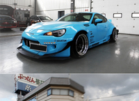 Fit for TOYOTA GT86 BRZ Rocket Bunny2 wind air knife