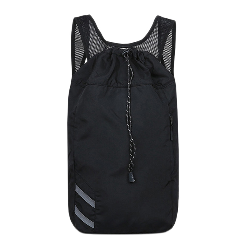Bags For Basketball Drawstring Mash Pack Fitness Bucket Bag For Men Outdoor Basketball Backpack