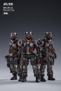Image 1 - مجموعة شخصيات الحركة 3 من جويتوي JT0173 لقوات الهيكل العظمي مزدوجة المنجل فرقة 1/18