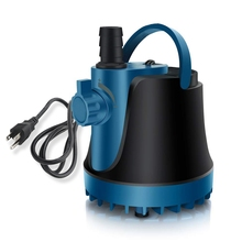 25W Submersible Water Pump 400GPH Submersible Pump 1800L/H Ultra Quiet Fountain Pump for Fish Tank Aquarium dc 12v 1100l h submersible water pump controllable speed for fish tank aquarium