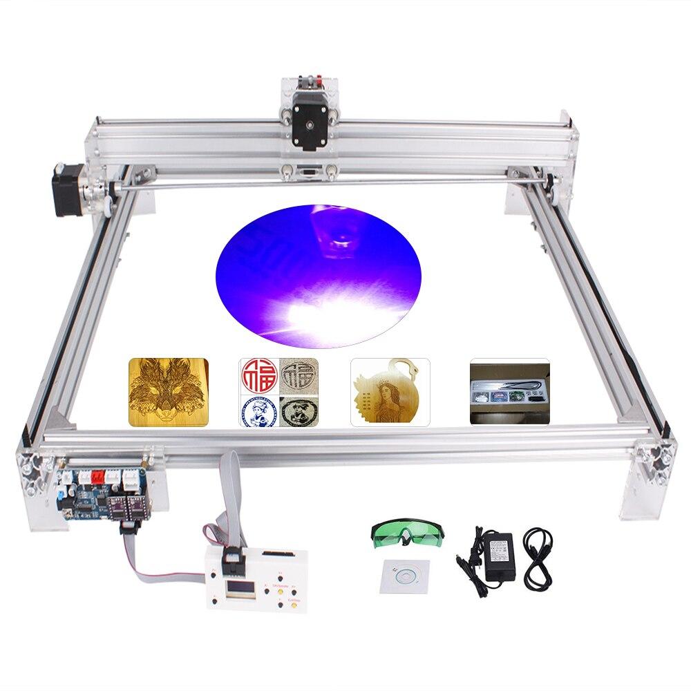 6550 15W CNC Machine de gravure Laser zone de travail 65cm * 50 cm, Machine de gravure Laser bricolage, routeur en bois, coupe Laser, routeur de CNC