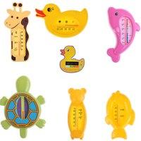 1 termómetro de baño para bebé para recién nacido, pequeño oso, pez delfín, pato, medidor de temperatura de agua, baño, juguetes de baño para bebé, termómetro, Baño