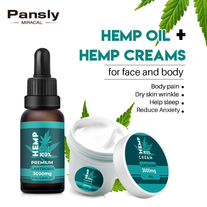 Inedible Organic Hemp Cream Cbd Hemp Oil Anti Wrinkle Anti-aging Moisturizer Nourishing Face 3000mg Extract Hemp Seed Oil Cream