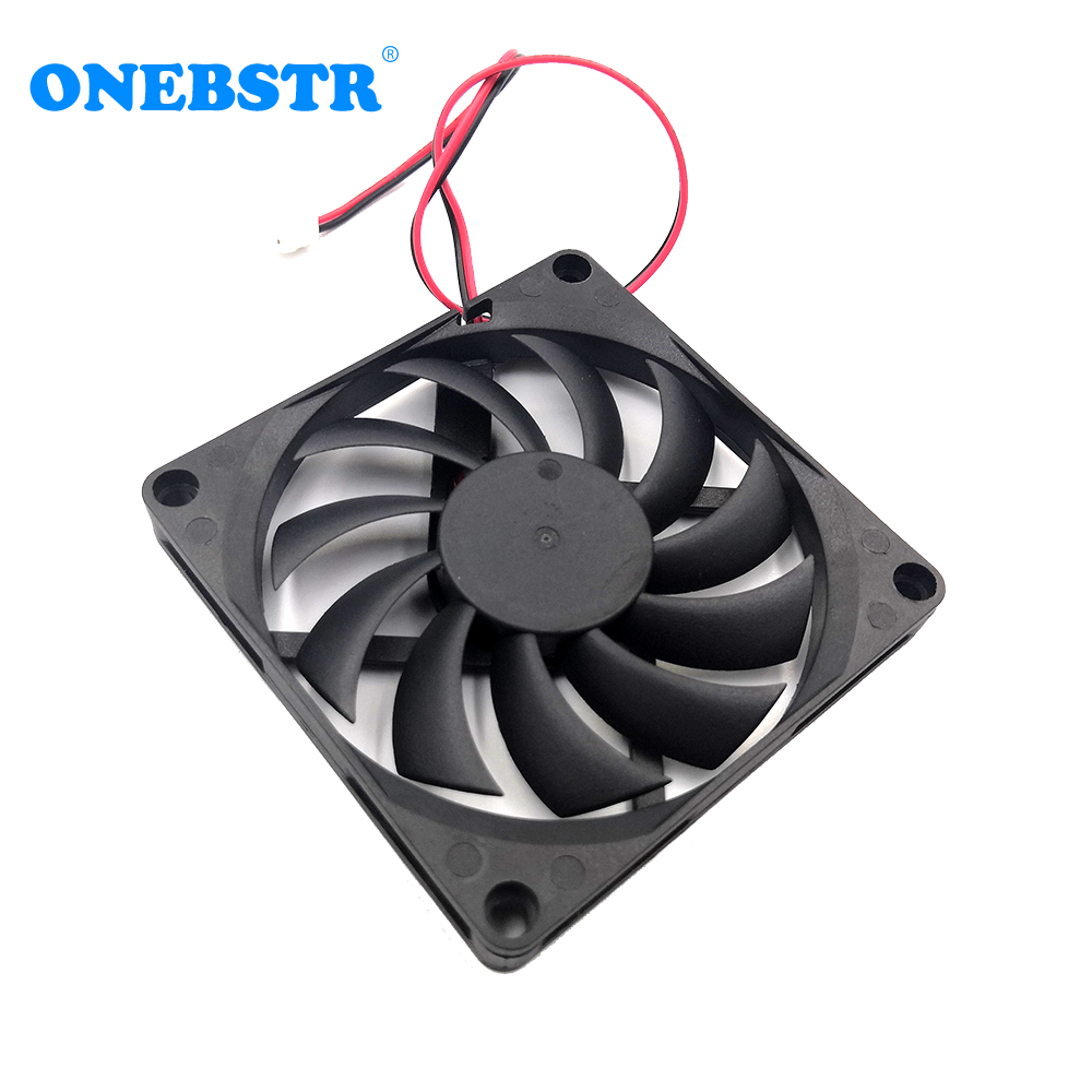 8010 Fan 5V 12V 24V 80X80X10mm Brushless Cooler Fan Computer CPU System Heatsink PC Power Supply USB Cooling Fan Free Shipping