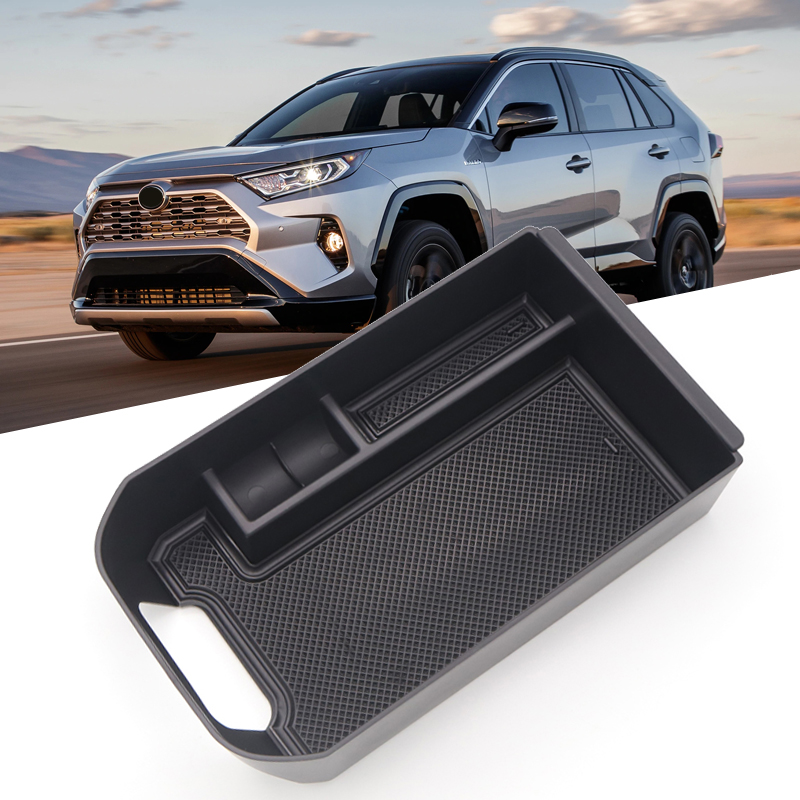 for Toyota RAV4 XA50 2019 2020 Auto Car Interior Center Console Armrest Organizer Tray Glass Holder Pallet Storage Box Container
