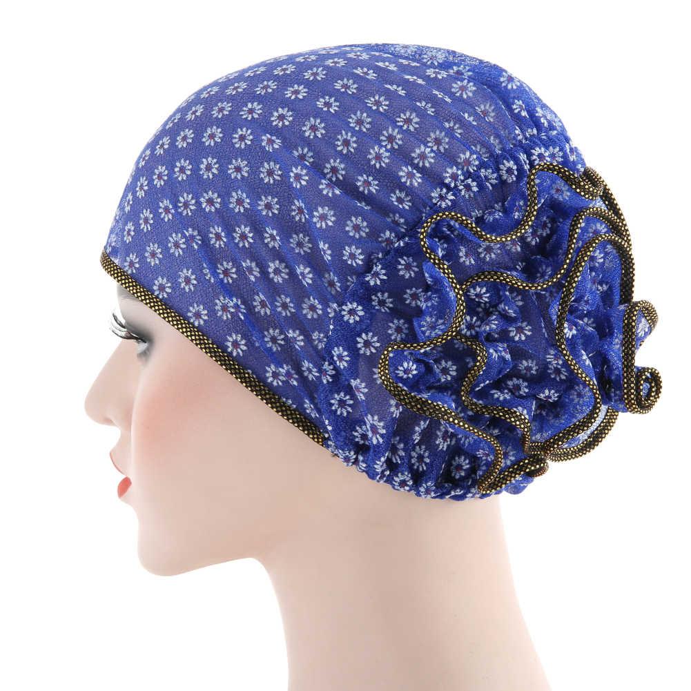 2019 delle Donne Calde Hijab Turbante Elastico Panno Testa del Cappello Della Protezione di Accessori Per Capelli Delle Signore Sciarpa Musulmana Cap All'ingrosso