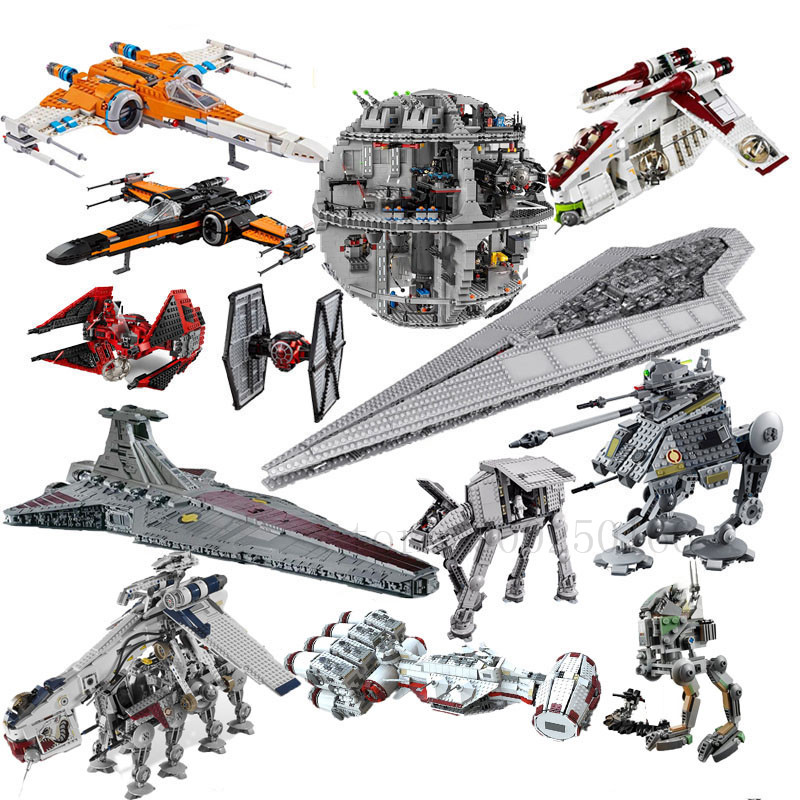 New StarWars Star Destroyer Tie Fighter AT AT Walker Death Star 05027 05028 05035 05042 05039 05132 05033 05142 05041 image