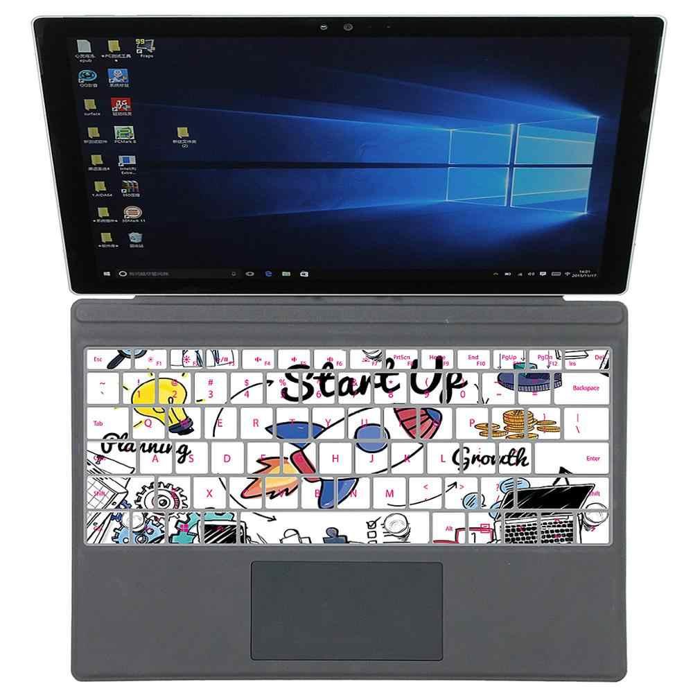 シリコンキーボードカバースキンプロテクターマイクロソフト表面プロ 4 5 新プロ 6 とマイクロソフト表面ノートパソコンのキーボード