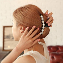 Fashion Pearl Hair Claws For Women Hairpins Banana Clips Hair Accessories Ornaments Headwear Hair Clip Girl hair styling tools shinely kids adult hair clip with bow tie decoration hair ornaments hairpins big gold hair accessories hair clips for women