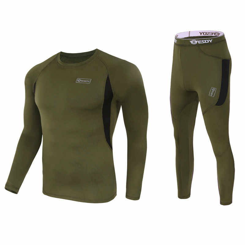 Флисовое термобелье, уличное Спортивное нижнее белье, спортивный костюм, физическая одежда для пеших прогулок, катания на лыжах и кемпинге, велоспорта, фитнеса