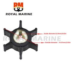 646-44352-00 wirnik pompy do wody (646-44352-01 646-44352-00) dla Suzuki 2-skok 2HP 2A 2B 2C silnik łodzi części